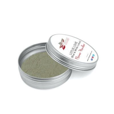 LOTUS LOVE (Blue & White Lotus blend) Flower Powder