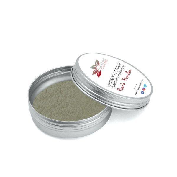 Prickly Lettuce (Lactuca serriola) Herb Powder