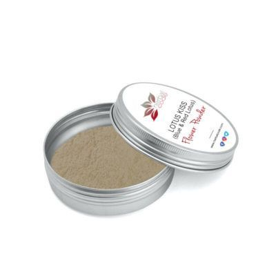 LOTUS KISS (Blue & Red Lotus blend) Flower Powder