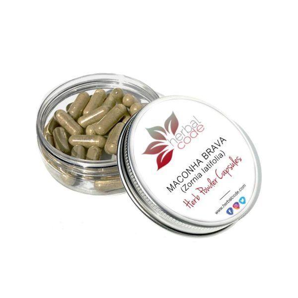 Maconha Brava (Zornia latifolia) Herb Powder Capsules