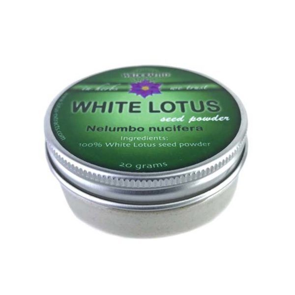White Lotus Seeds (Nelumbo nucifera) Herb Powder