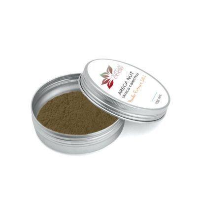 Areca Nut (Areca catechu) 50:1 Powder Extract